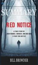 Summary of Red Notice Book