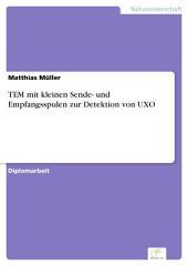 TEM mit kleinen Sende- und Empfangsspulen zur Detektion von UXO
