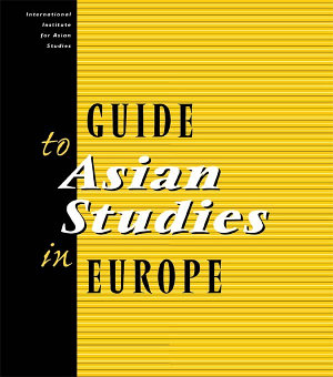 Guide to Asian Studies in Europe PDF
