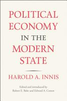 Political Economy in the Modern State PDF