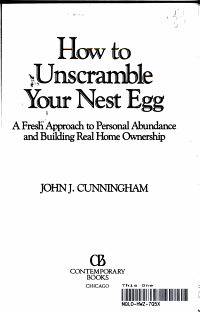 How to unscramble your nest egg PDF