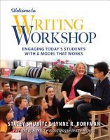 Welcome to Writing Workshop PDF