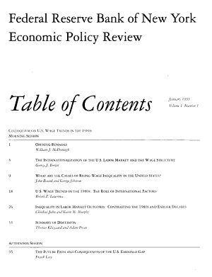 Economic Policy Review