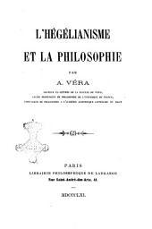L'hegelianisme et la philosophie par A. Vera