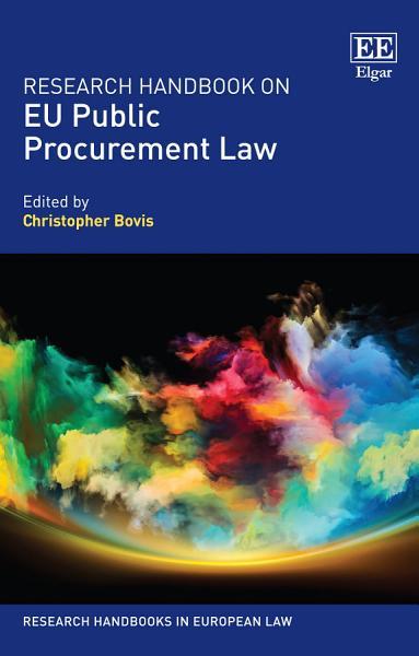 Research Handbook on EU Public Procurement Law