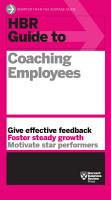 HBR Guide to Coaching Employees PDF
