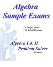 Algebra Sample Exams