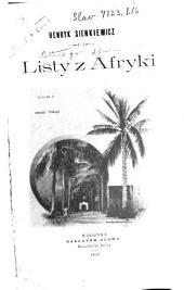 Listy z Afryki: Tomy 1-2