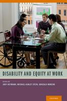 Disability and Equity at Work PDF