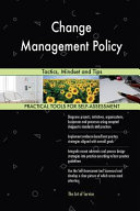 Download Change Management Policy Book