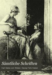 Sämtliche Schriften, von Carl Maria von Weber