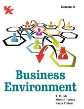 Business Environment: for B.Com-I Semester-II