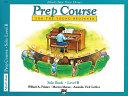 Alfred's Basic Piano Prep Course Solo Book