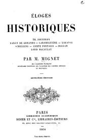Éloges Historiques ...