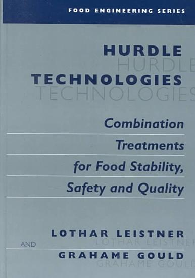 Hurdle Technologies  Combination Treatments for Food Stability  Safety and Quality PDF