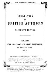John Inglesant: A Romance, Volume 1