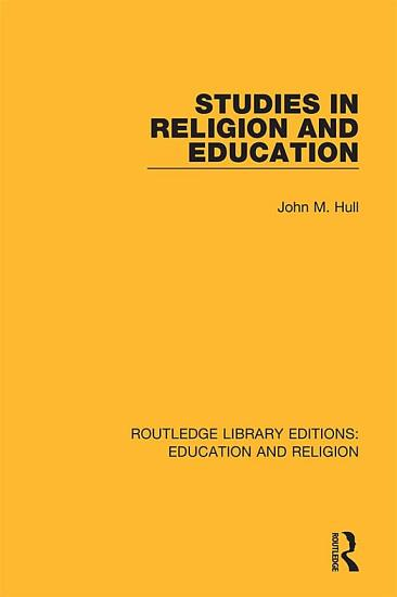 Studies in Religion and Education PDF