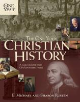 The One Year Christian History PDF