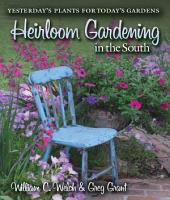 Heirloom Gardening in the South PDF