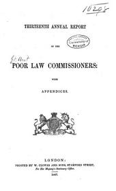 Annual Report of the Poor Law Commissioners