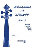 Workbook for Strings  Book 2 for Viola PDF