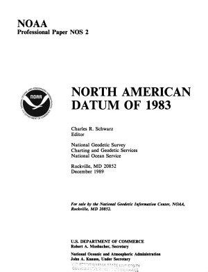 North American Datum of 1983 PDF