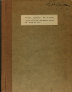 Field Trip to the Lake Superior Region, May 5 to May 12, 1951