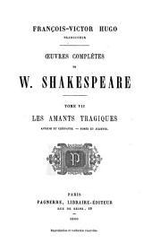 Oeuvres complètes de William Shakespeare: Volume7