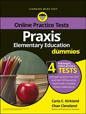 Praxis Elementary Education For Dummies with Online Practice PDF