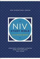 NIV Study Bible  Fully Revised Edition  eBook PDF