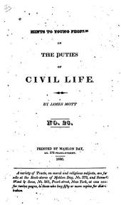 Hints to Young People on the Duties of Civil Life