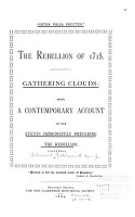 The Rebellion of 1715 PDF
