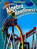 California Algebra Readiness PDF