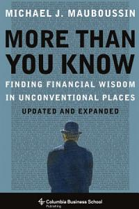 More Than You Know Book