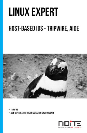Host based IDS   tripwire  aide