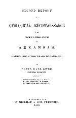 Second Report of a Geological Reconnaissance of the Middle and Southern Counties of Arkansas