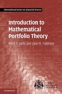 Introduction to Mathematical Portfolio Theory PDF