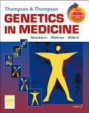 Thompson and Thompson Genetics in Medicine PDF