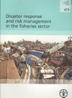 Disaster Response and Risk Management in the Fisheries Sector PDF