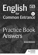English for Common Entrance 13  Practice Book Answers PDF