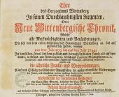 Ehre des Herzogtums Wirtenberg In seinen Durchlauchtigsten Regenten, Oder Neue Wirtenbergische Chronik ...: Welche alle Merkwürdigkeiten und Veränderungen ... von dem Jahr 500 bis auf das Jahr 1744 ... beschreibet ...