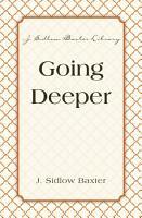 Going Deeper PDF