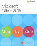 Microsoft Office 2016 Step by Step