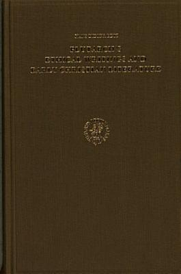 Plutarch s Ethical Writings and Early Christian Literature