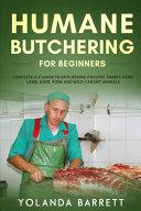 Humane Butchering for Beginners PDF