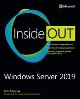Windows Server 2019 Inside Out PDF