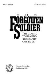 The Forgotten Soldier PDF