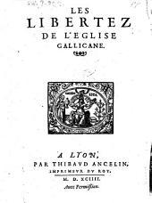 Les libertez de l'eglise gallicane