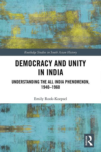 Democracy and Unity in India