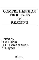 Comprehension Processes in Reading PDF